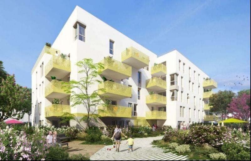Votre logement neuf à Venissieux intra périphérique avec Link it, crèche, potager entre Moulin à Vent et Etats Unis