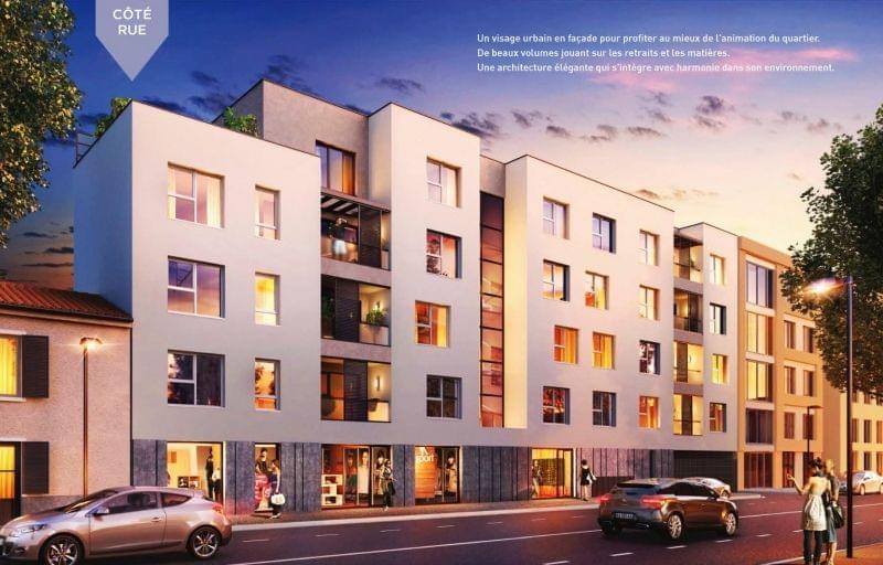 Programme de 59 logement neuf venissieux villa for Programme immobilier neuf 2017