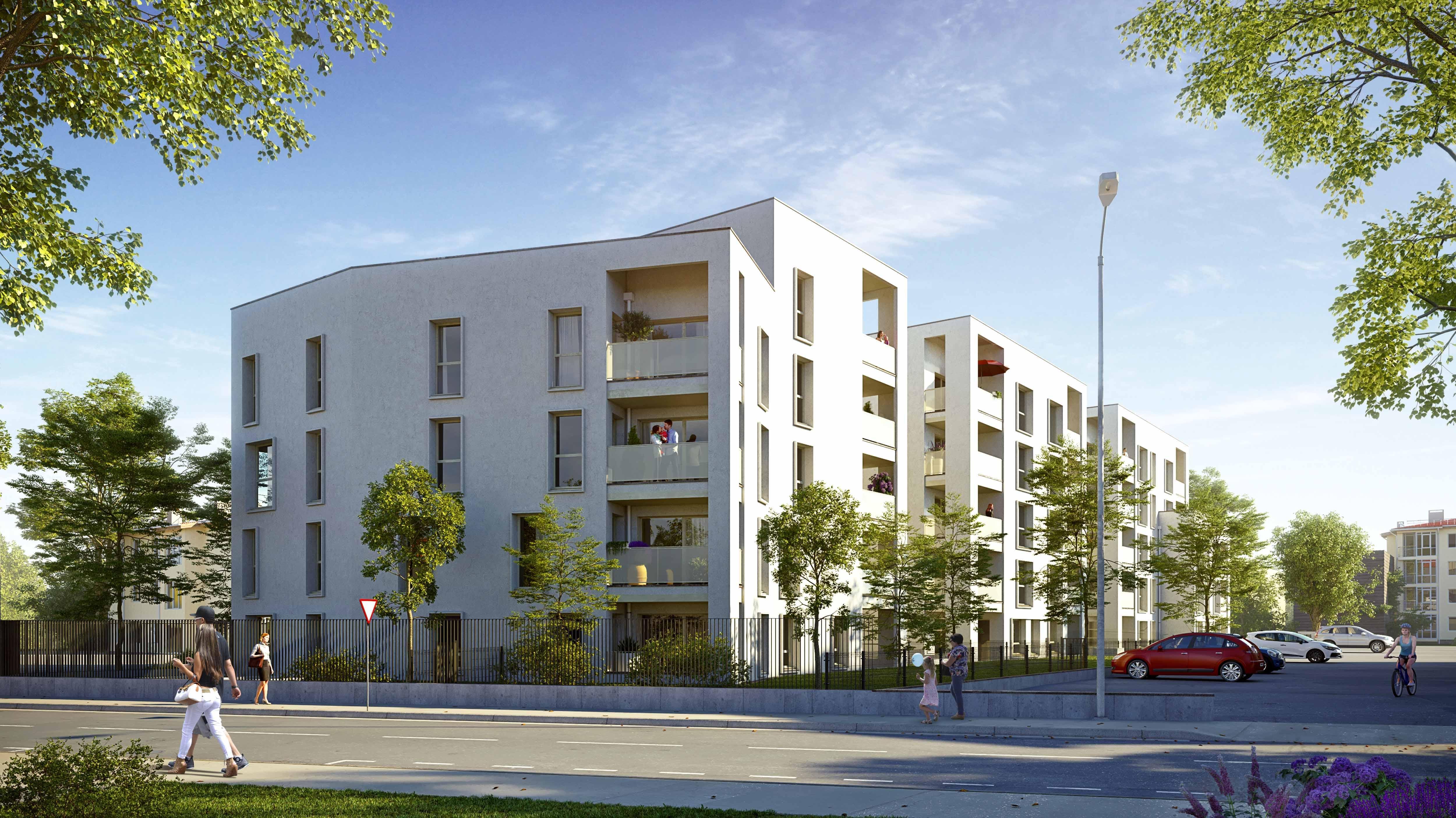 Résidence à Villefranche sur Saône 20 minutes de Lyon, Quartier calme, Écoles et commerces à proximité,