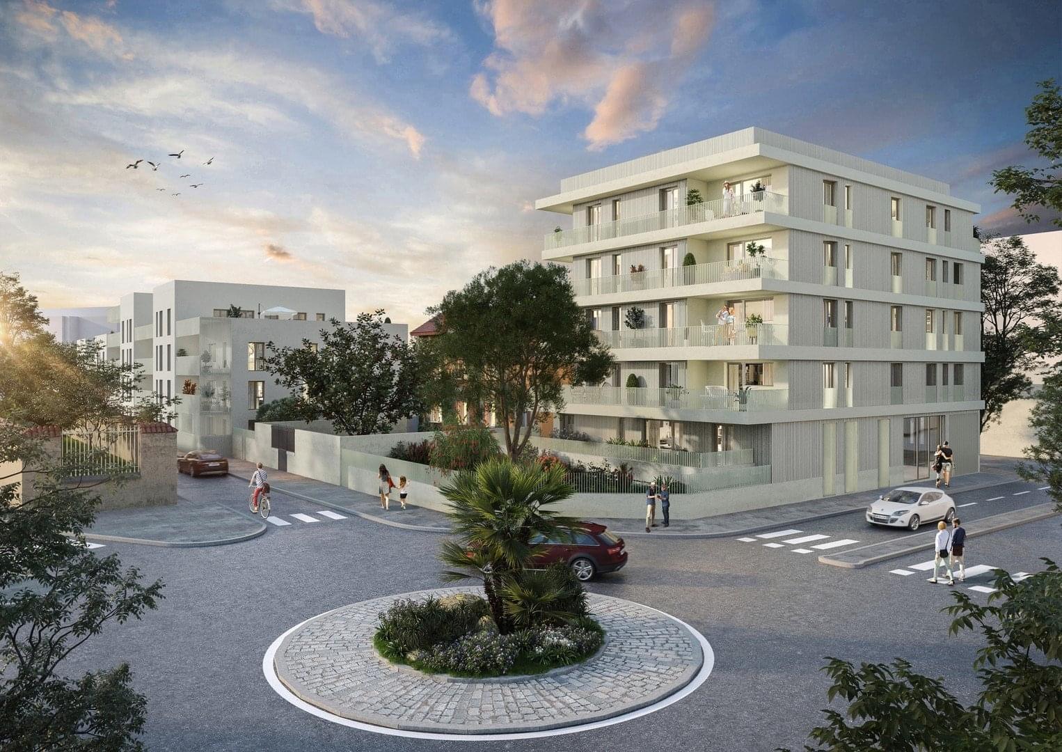 Résidence à Villefranche sur Saône Petite copropriété intimiste, A 5 minutes de l'hypercentre, Appartements prolongés de vastes espaces extérieurs,