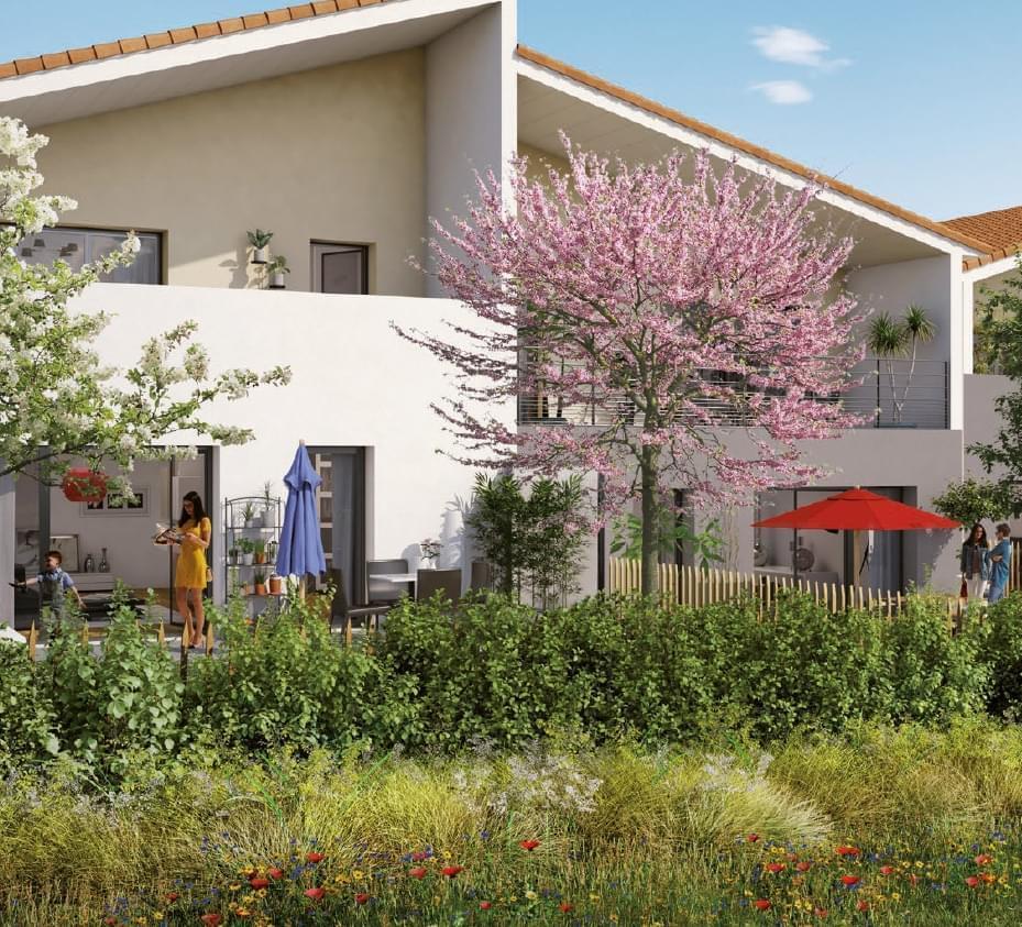 Résidence à Villefranche sur Saône Idéal investissement immobilier, Résidence calme, Jardins privatifs,