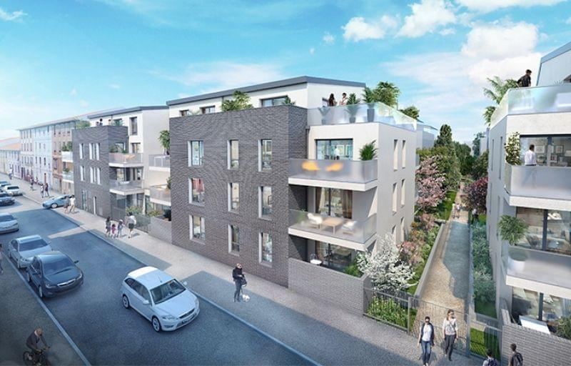 Achetez un logement neuf à Villeurbanne entre Montchat et Grandclément avec le programme Aero