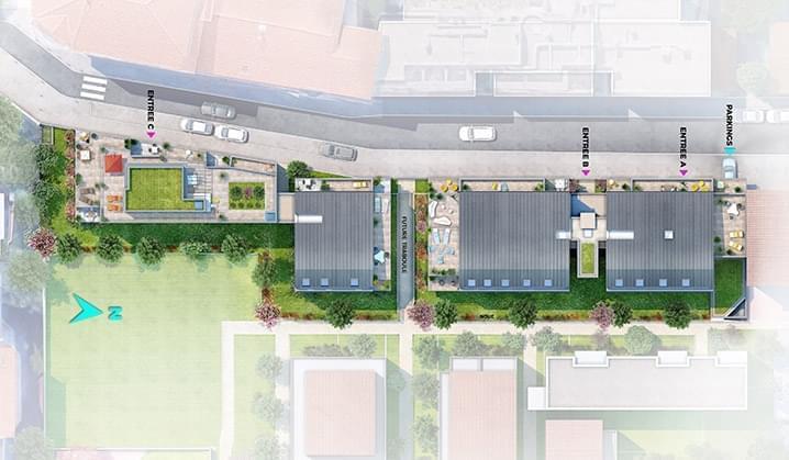 Résidence à Villeurbanne Proche Montchat, Superbe réalisation, Logements neufs de qualité,