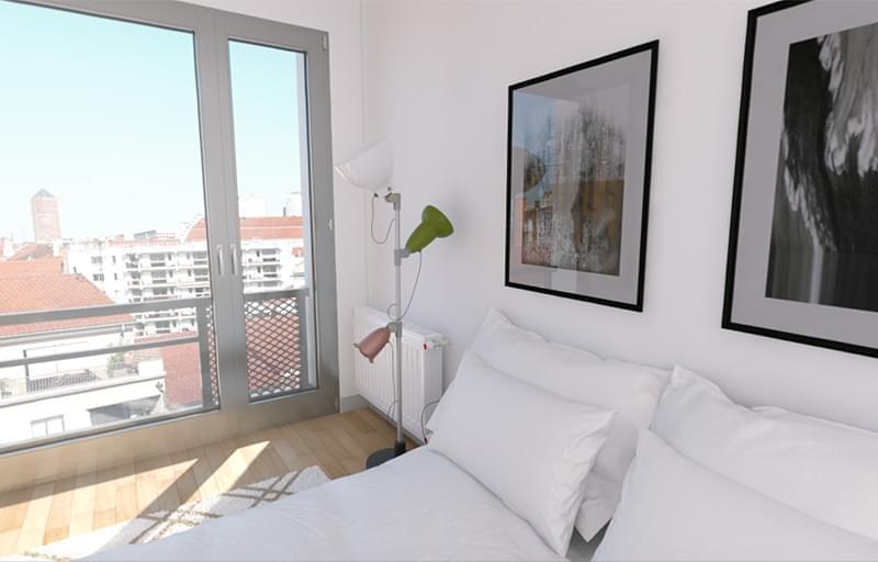 Résidence à Villeurbanne Balcons, terrasses ou jardins pour tous les appartements, Larges baies vitrées, Zone résidentielle calme,