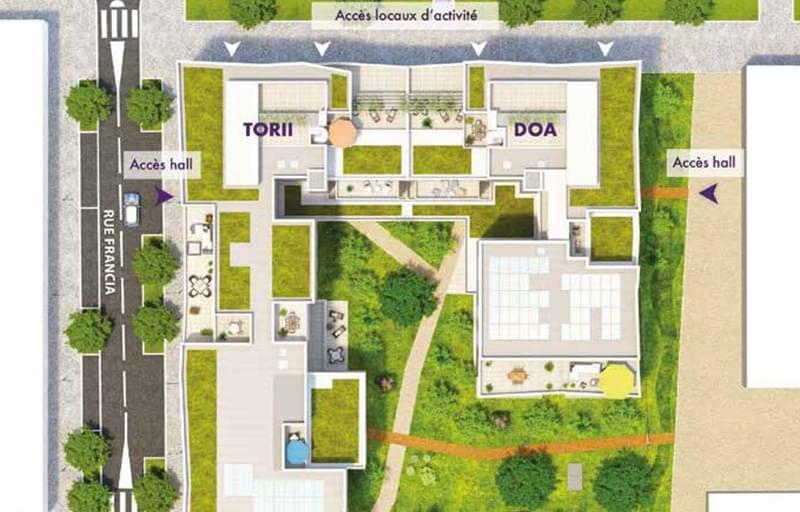 Résidence à Villeurbanne Proche centre de la Soie, Forte accessibilité, Gros potentiel locatif, Éligible Pinel, ,