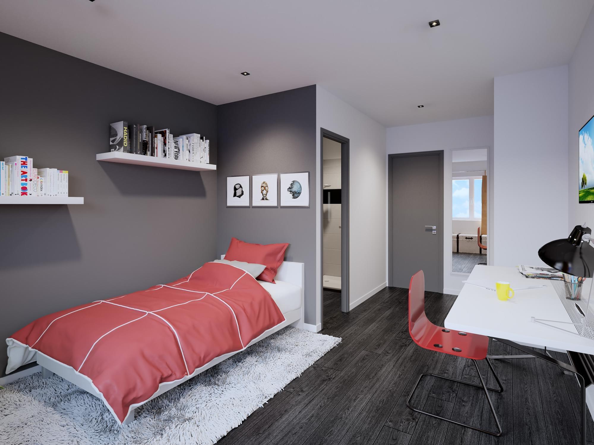 studios neufs en lmnp r habilit villeurbanne edouard vii id al investisseur. Black Bedroom Furniture Sets. Home Design Ideas