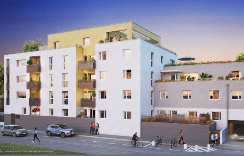 Promotion immobilière à Villeurbanne avec le programme Esquisse métro Flachet