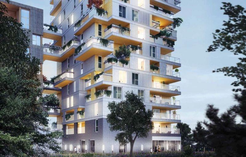 Vous cherchez un appartement neuf à Lyon Villeurbanne ? Nouvelle promotion immobilière Existenciel au Carré de Soie