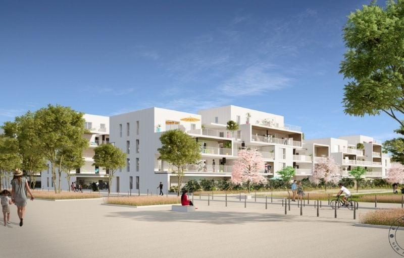 Programme immobilier neuf Villeurbanne : Garden Village une copropriété avec jardins partagés à La Doua