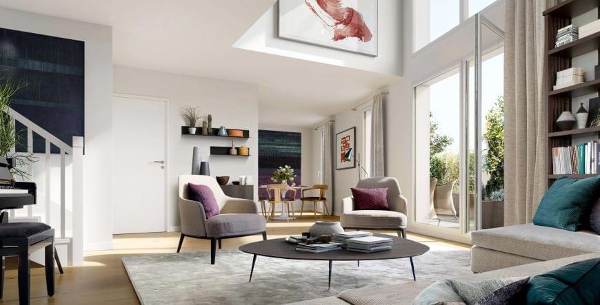 Résidence à Villeurbanne Du studio au 5 pièces, Appartements lumineux,