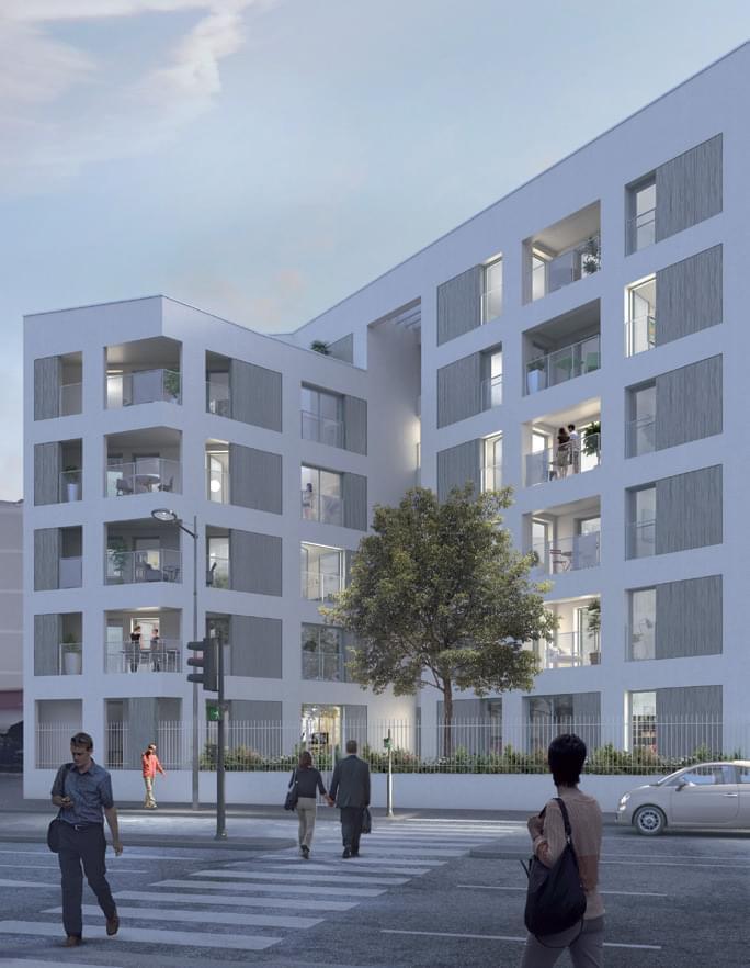 Programme immobilier neuf villeurbanne inspiration for Inspiration appartement