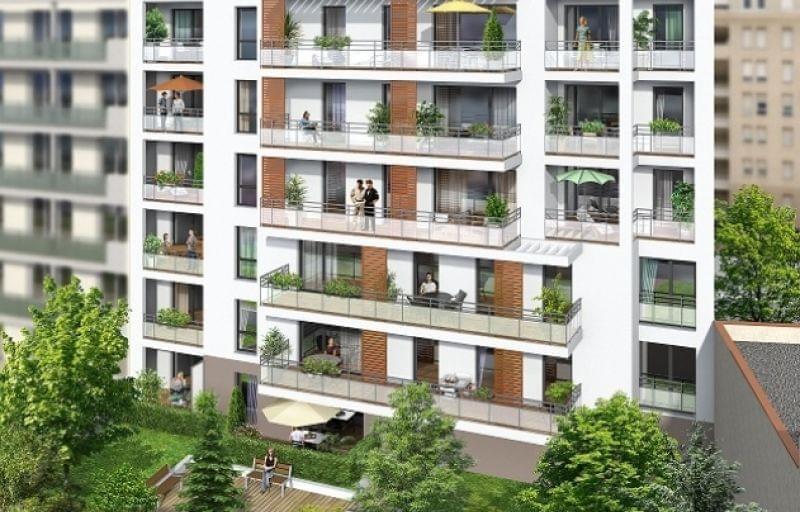Programme neuf Villeurbanne : le Jardin Secret, 25 logements dont certains éligible Prêt Locatif Social
