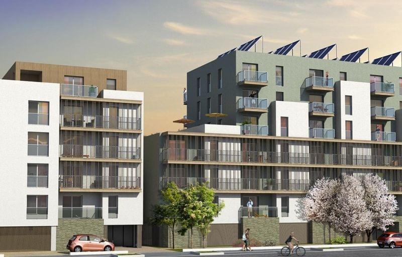 l 39 envol 76 logements neufs villeurbanne aux normes bbc. Black Bedroom Furniture Sets. Home Design Ideas