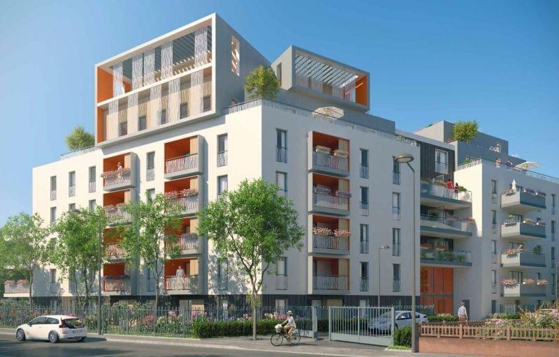 Programme immobilier à Villeurbanne dont le permis de construire est purgé de tout recours :  L Opaline