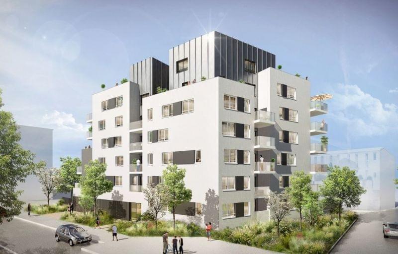 Nouveau projet immobilier neuf à Villeurbanne La Doua en face du campus : L'Open