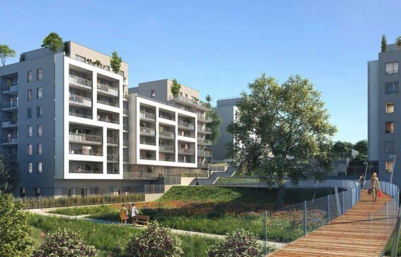 Logement neuf villeurbanne les jardins de l 39 acad mie for Programme de logement neuf