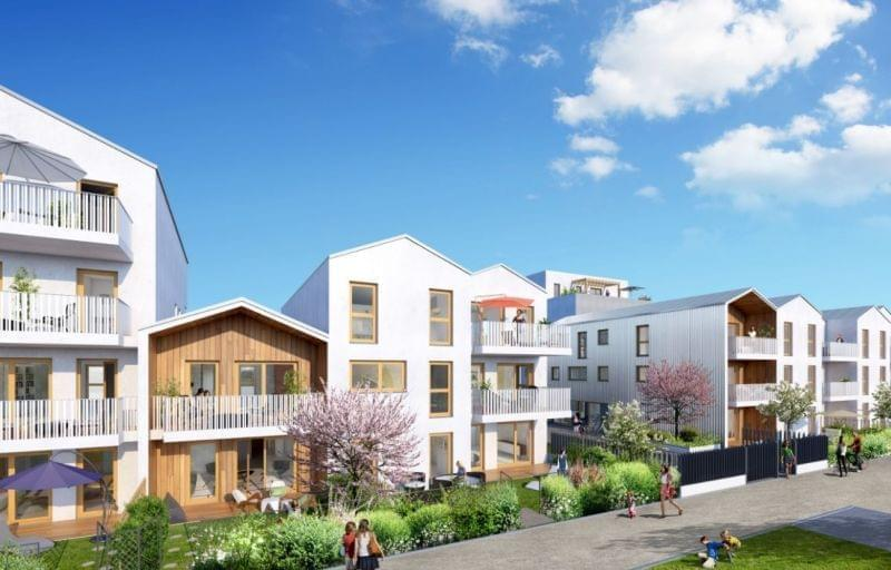 Livraison rapide : projet immobilier neuf Nova Urbana à Villeurbanne - studio neuf et 3 pièces Pinel 2018