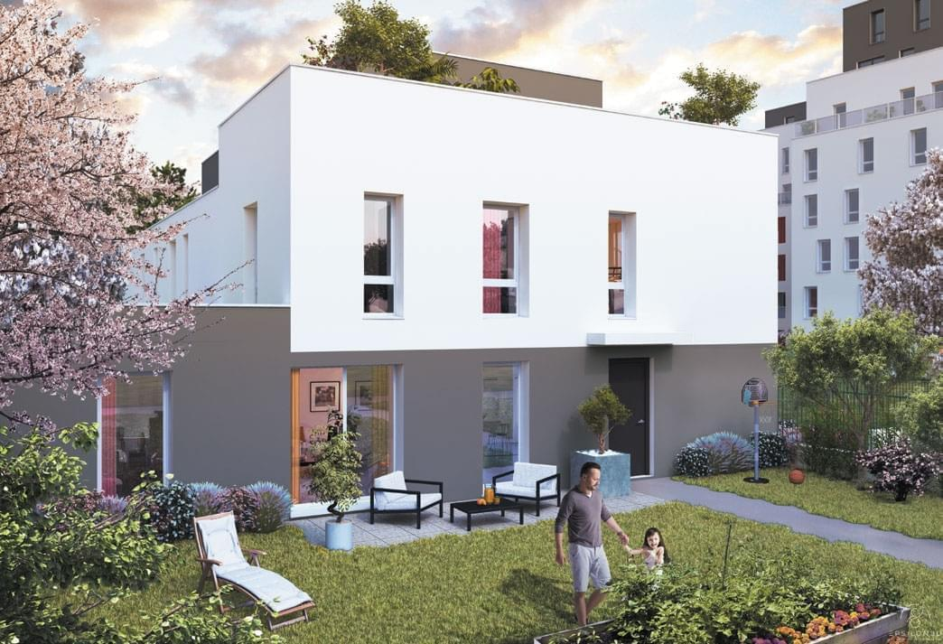 Programme immobilier neuf proche la doua villeurbanne for Maison neuve programme immobilier neuf