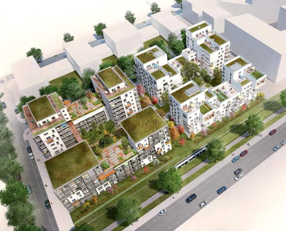 Programme neuf villeurbanne carr de soie organza for Acheter un appartement en construction