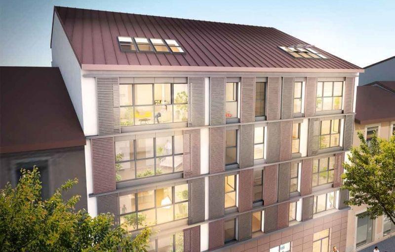 Programme neuf pour défiscalisation Villeurbanne Gratte Ciel : une résidence intimiste nommée Plein Ciel
