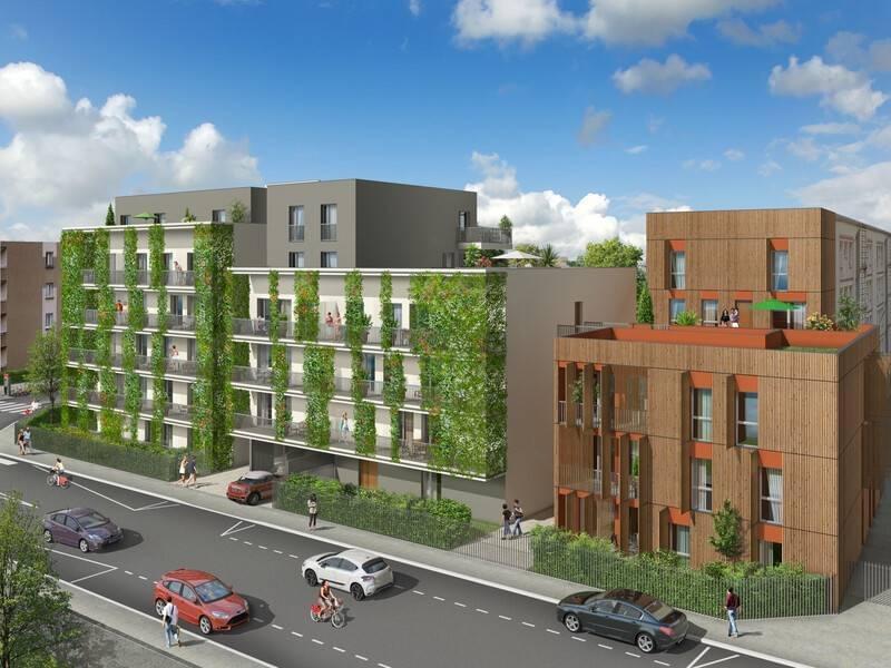Résidence à Villeurbanne Proche Gratte Ciel, Proche campus de la Doua, Balcons ou terrasses,