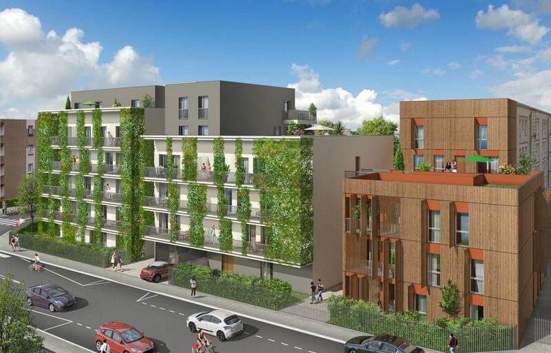 Immobilier neuf place Wilson à Villeurbanne : Signature, un programme neuf du T2 au T4 attique