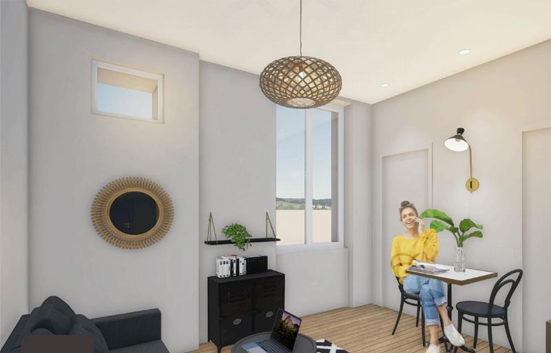 Résidence à Villeurbanne Idéal investissement, Espaces extérieurs disponibles, Petits prix,