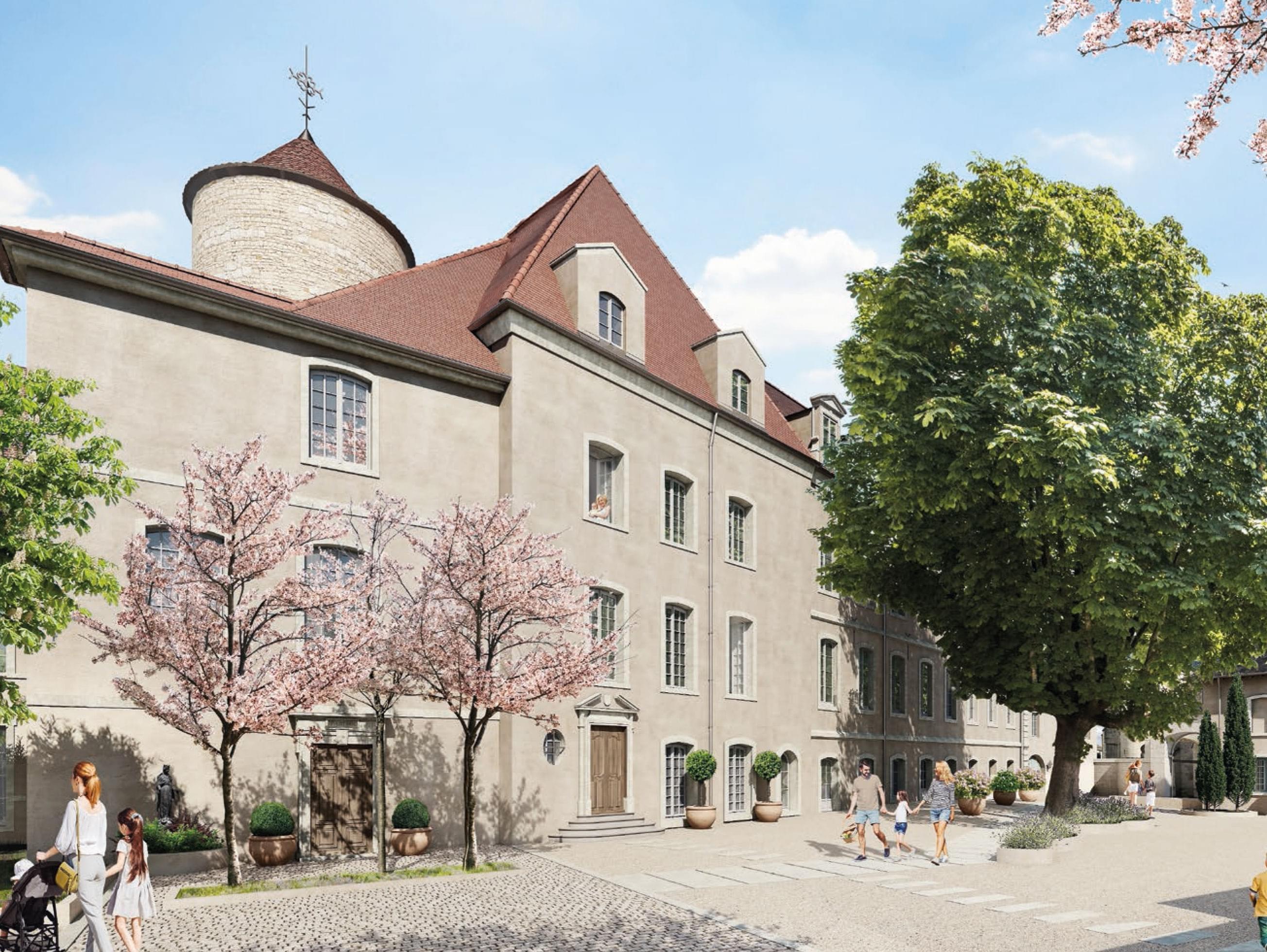 Résidence à Chalon-sur-Saône Belle architecture, Situation exceptionnelle en plein coeur de la ville,