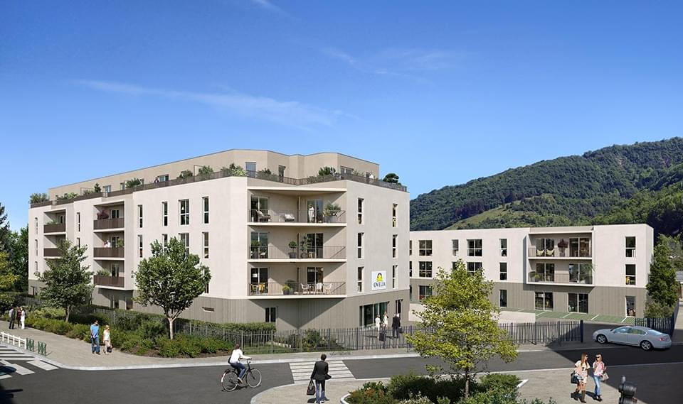 Résidence à Challes-les-Eaux À quinze minutes de Chambéry, Proche transports en commun, A 2 minutes à pied de la gare routière, Proche commerces,