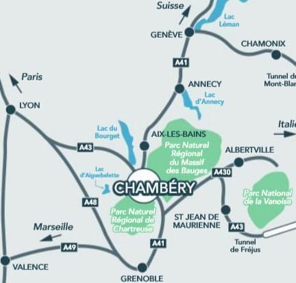 Résidence à Chambéry Quartier calme, Proche commerces, écoles et services, Panorama d'exception,