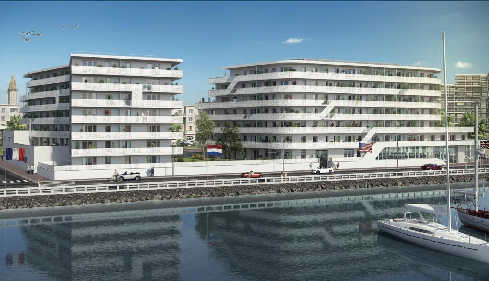 immobilier prestige Le Havre Prêt à taux zéro (PTZ+)  quartier Port de plaisance
