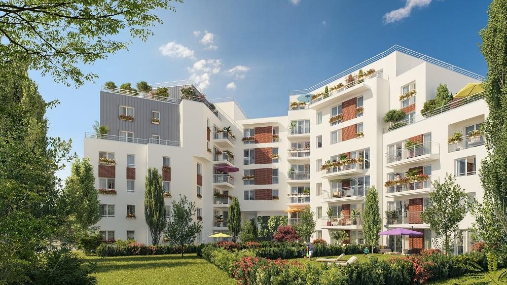 A saisir ! immobilier neuf Livry-Gargan  livrable 2023 quartier Résidentiel