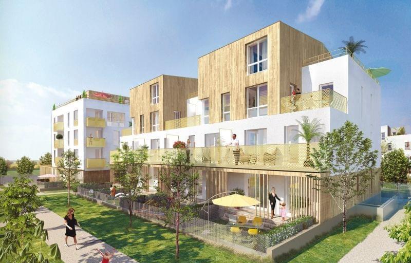 immobilier neuf disponible 2017 à Éragny Val d'Oise : programme Symbiose