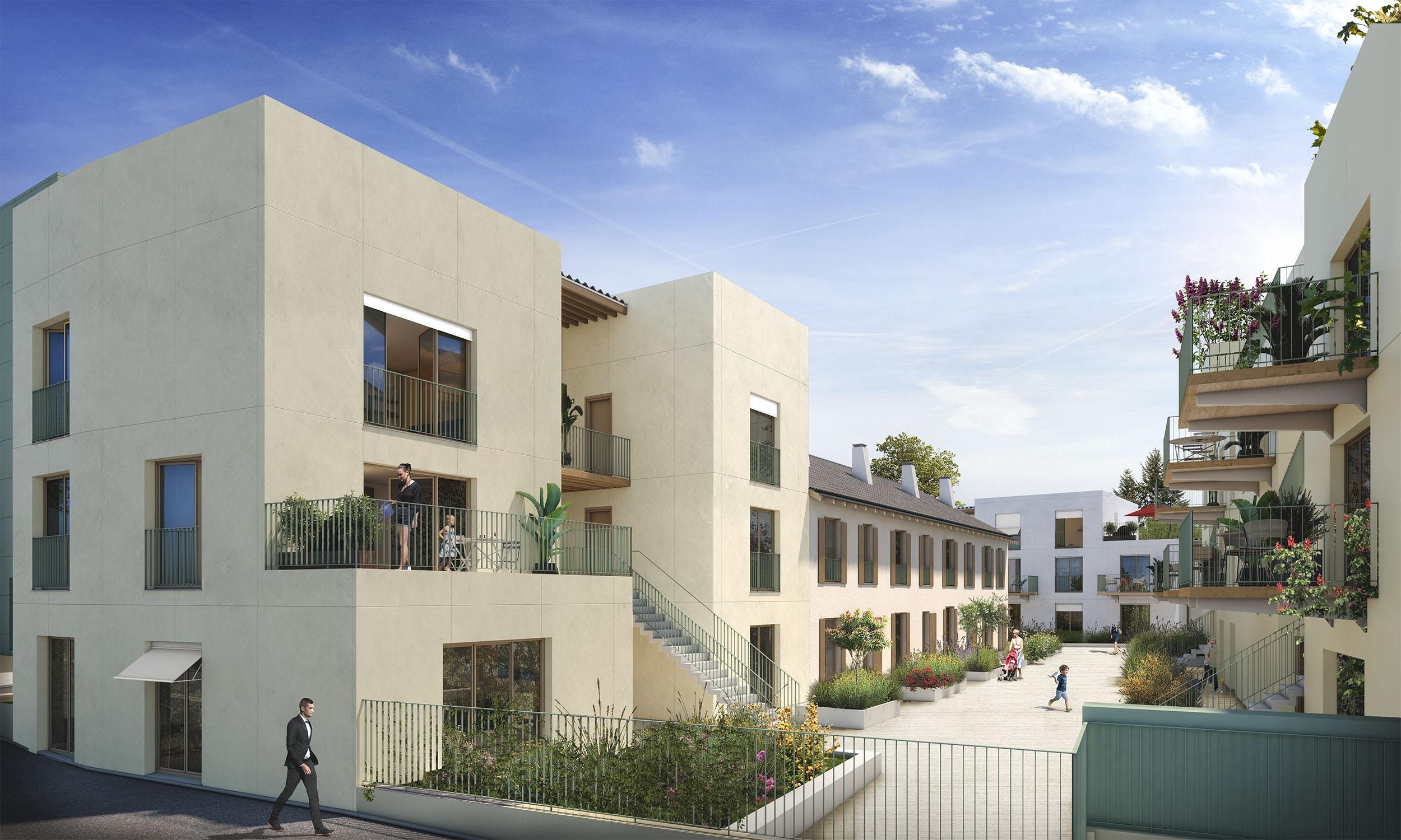 Investissement immobilier neuf Rungis Prêt à taux zéro (PTZ+) livrable 2023 quartier MONTJEAN