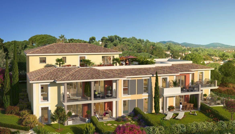 Résidence à Cogolin À 15 mn de Saint-Tropez en voiture, À proximité des plages et des marinas, Piscine privée et rez-de-jardin,
