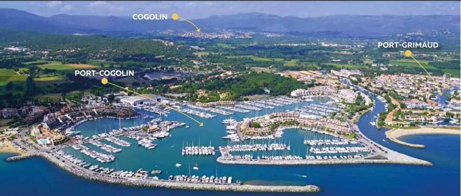 Résidence à Cogolin centre ville , calme , plage,