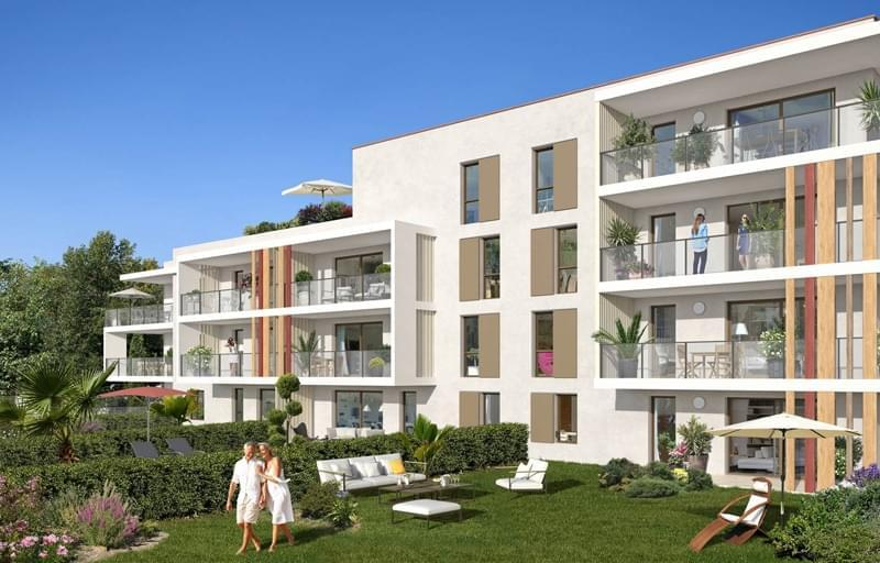 Résidence à Fréjus Proches plages, Proche commerces et écoles, Ambiance méditerranéenne,