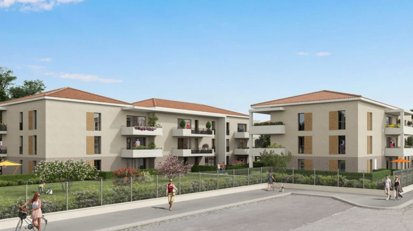 Résidence à Fréjus À seulement 1 km du centre-ville de Fréjus, Terrasses ou jardins pour tous les logements, Accès immédiat à l'autoroute A8,