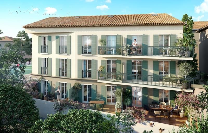Résidence à Saint-Tropez Proche de toutes les commodités, Emplacement privilégié, Pour investir en loueur meublé,