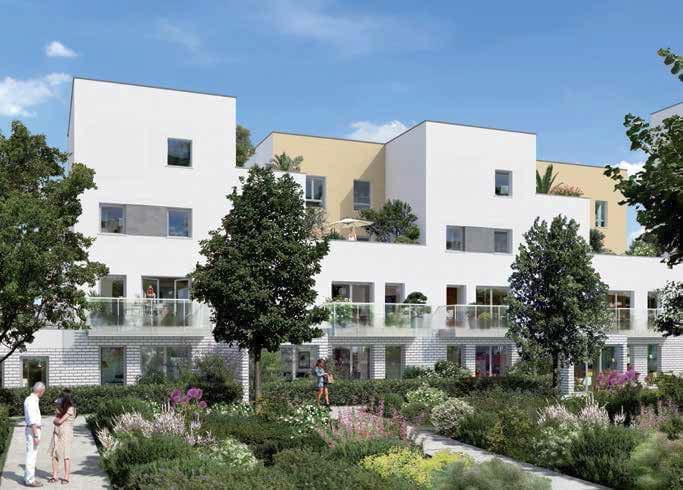 Logement neuf pinel livrable 2017 poissy optima for Achat maison ou appartement